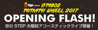 Eggs presents FM802 MINAMI WHEEL 2017 OPENING FLASH!